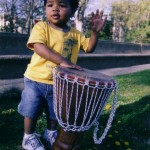Young drummer, Meridian Hill Park